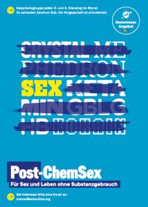 Onlineflyer Post-Chem-Sex Gruppe Sub München schwules Zentrum
