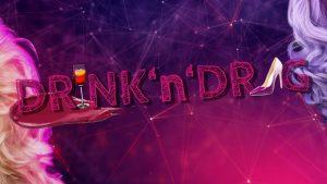 Logo Drink and Drag sub München schwules Zentrum