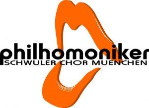 Logo philhomoniker schwule Chor München