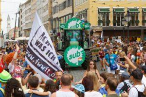 CSD Parade 2019 Sub München 3 - Copyright Mark Kamin
