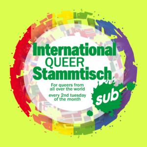 Logo International Queer Stammtisch Sub München