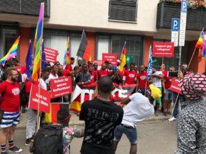 Refugees Rainbow Munich Sub CSD Gay Pride 2018 II